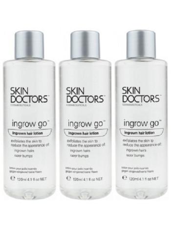 Skin Doctors Ingrow Go - купить в Москве с бесплатной доставкой, каталог с отзывами и ценами, экспресс доставка лосьона Скин Докторс Ingrow Go в Москве, СПБ и по всей России