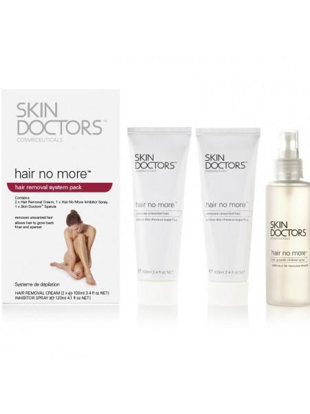 Скин Докторс Набор для удаления и замедления роста волос 3 предмета (Skin Doctors Hair No More Pack) (2003)