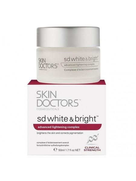 Скин Докторс Крем для лица и тела Отбеливающий 50 мл (Skin Doctors Sd White and Bright)